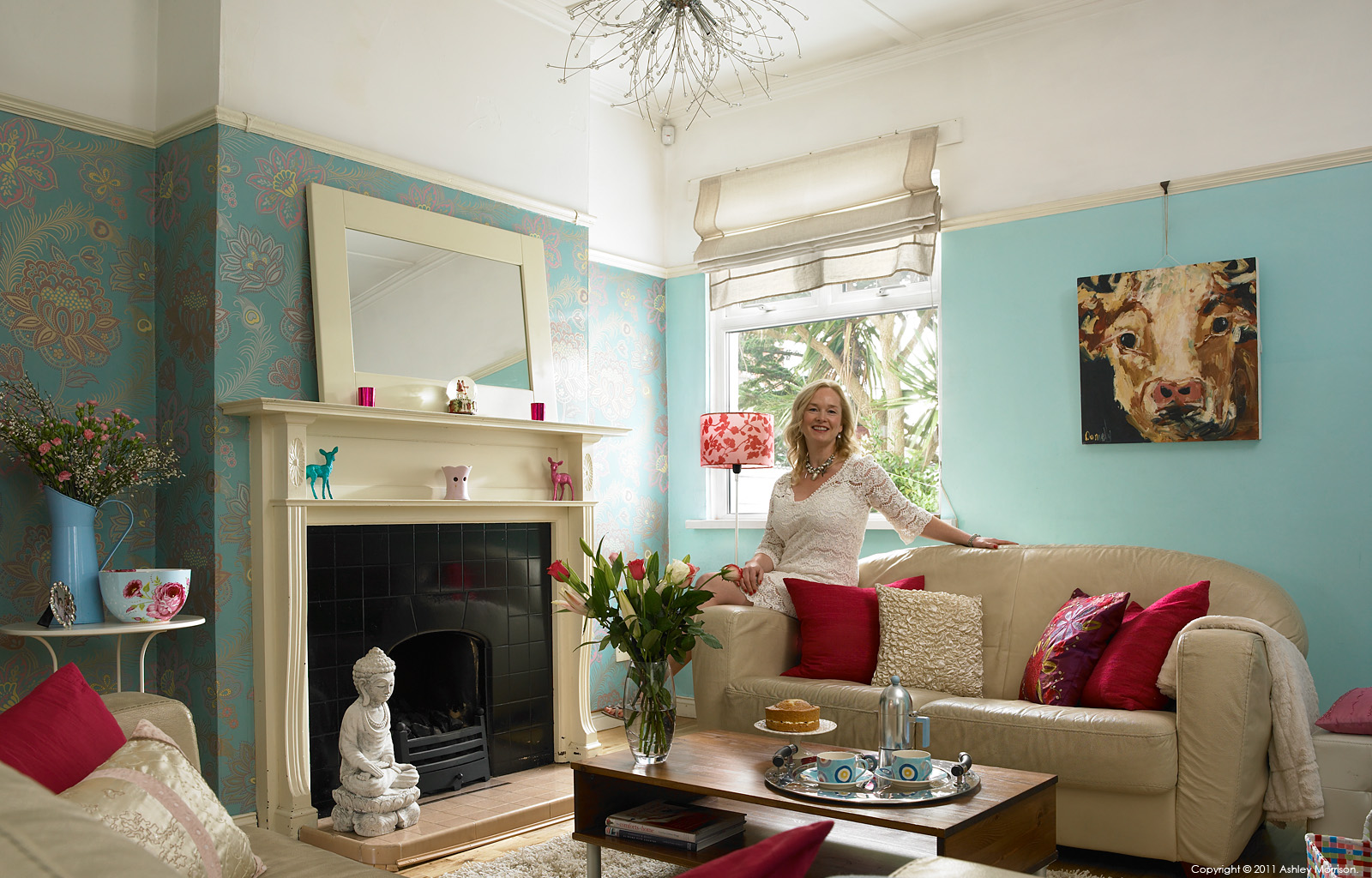 Patricia Abbott in her detached cottage in the County Down town of Bangor.