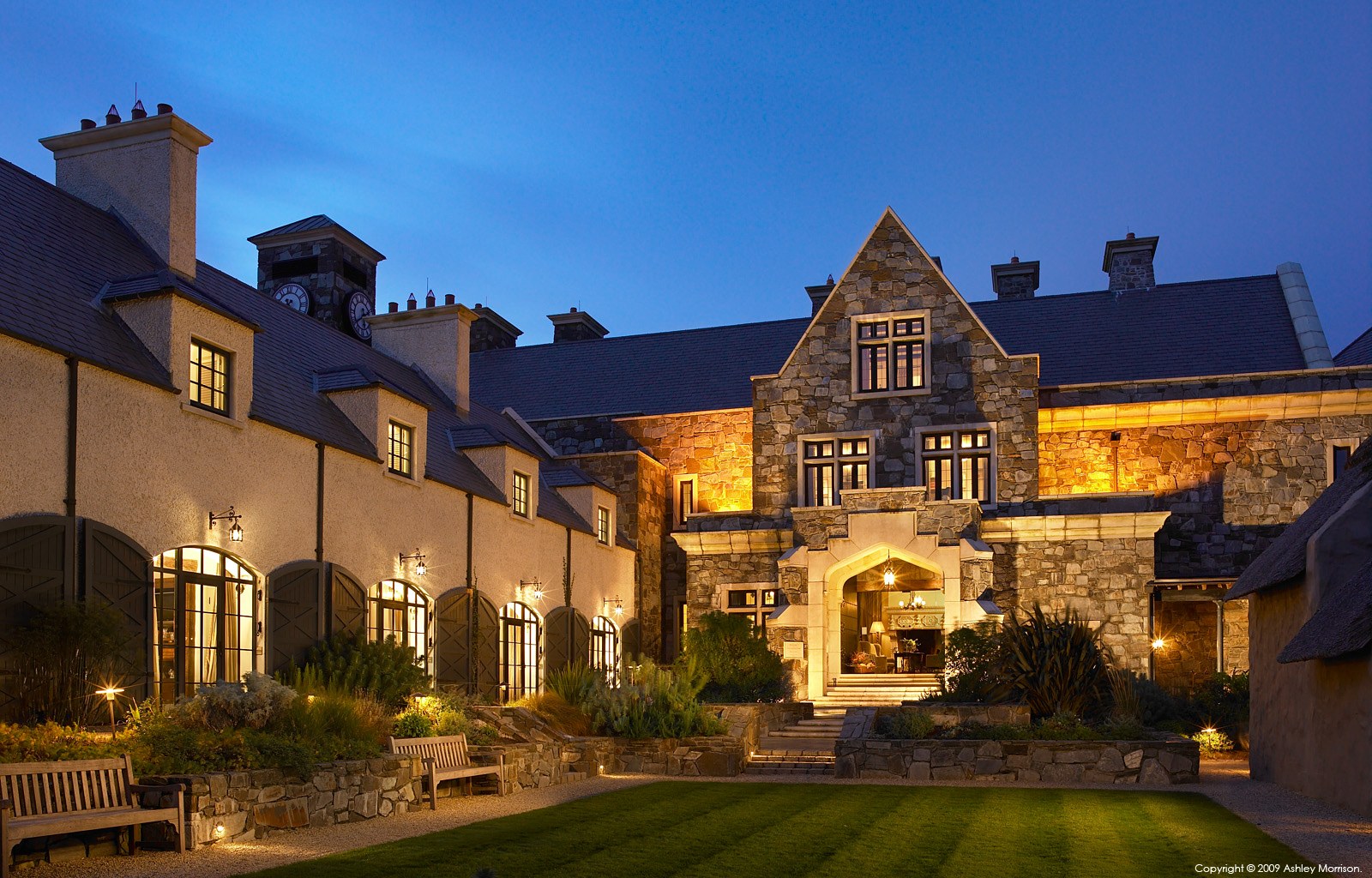 The Lodge at the Trump International Golf Links & Hotel in County Clare by Ashley Morrison.
