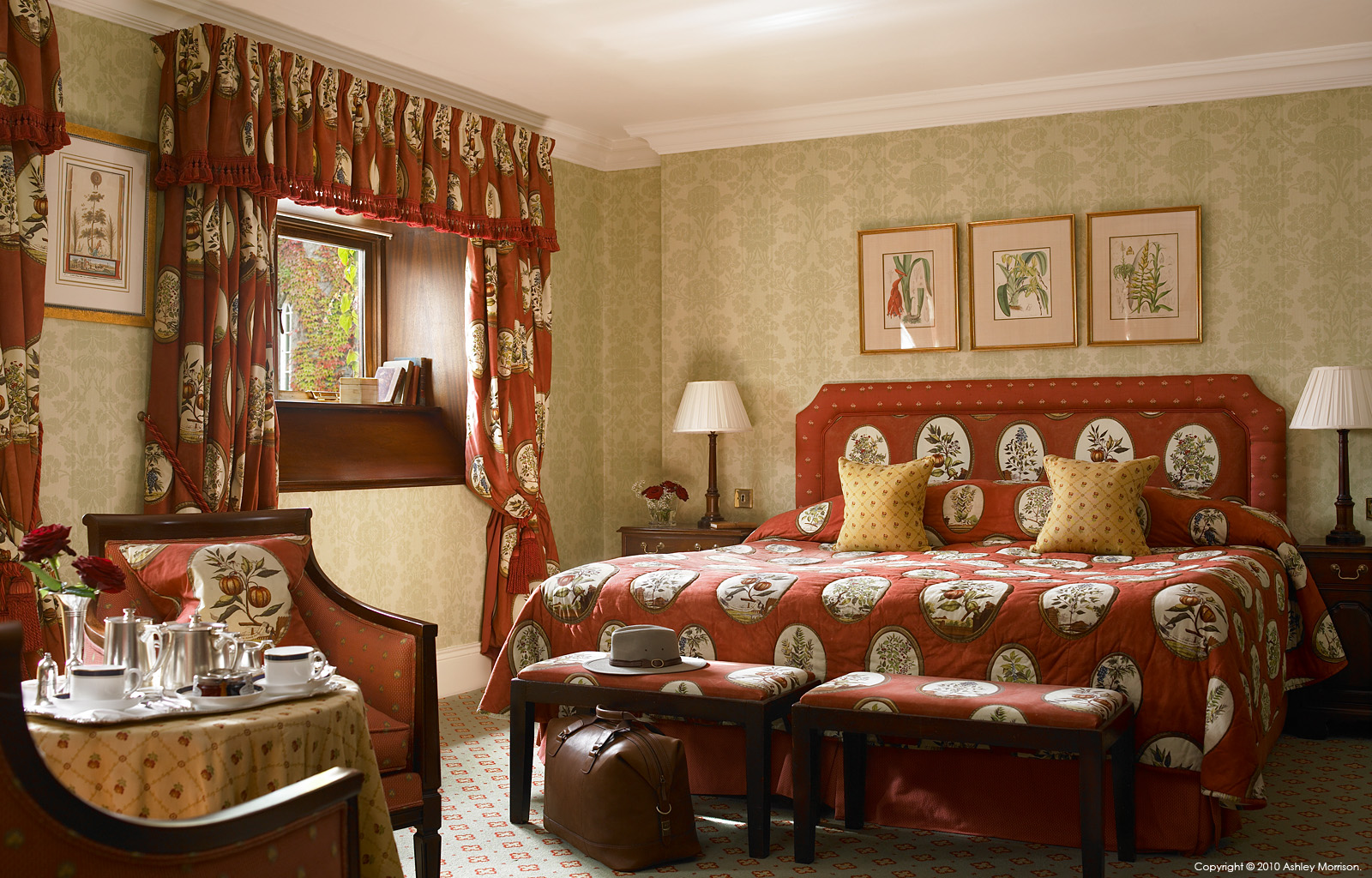 Queen Ann Bedroom Suite At Dromoland Castle In County Clare