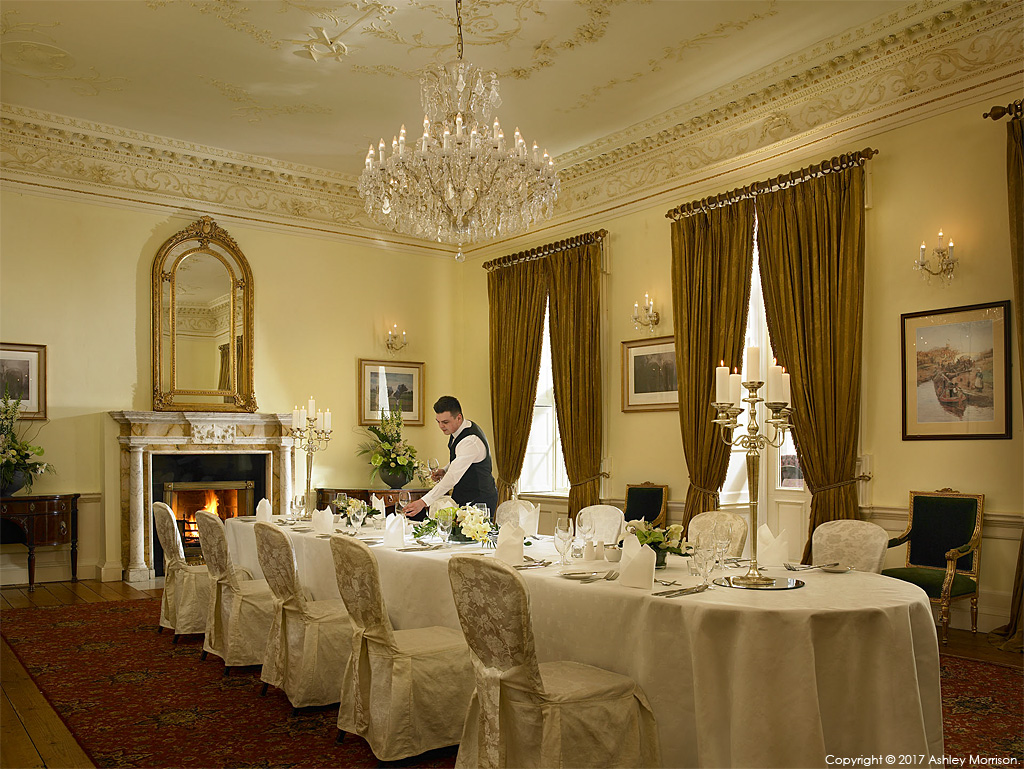 The Alder Suite at Dunboyne Castle Hotel & Spa in County Meath.