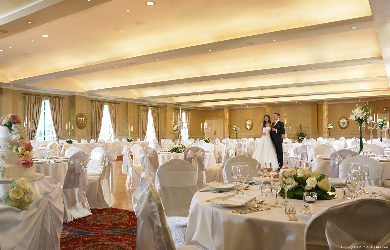 The Lettermore ballroom suite at the Galway Bay Hotel in Salthill.