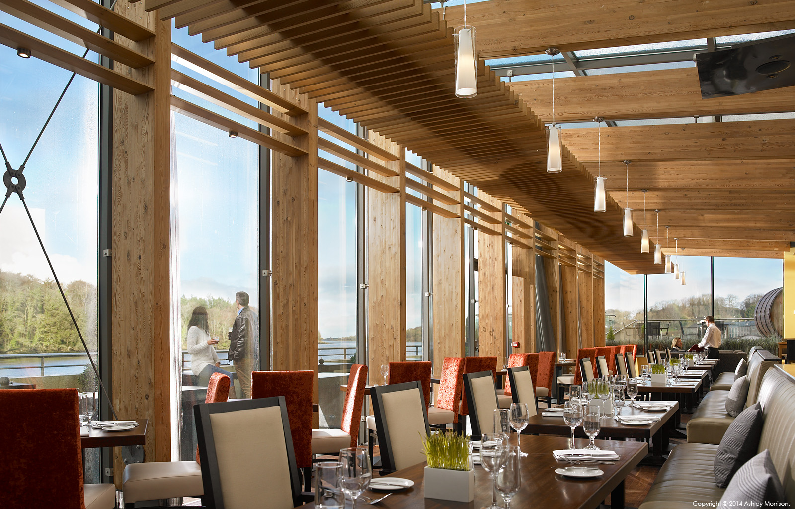The riverside restaurant at the Ice House Hotel in Ballina by Ashley Morrison.