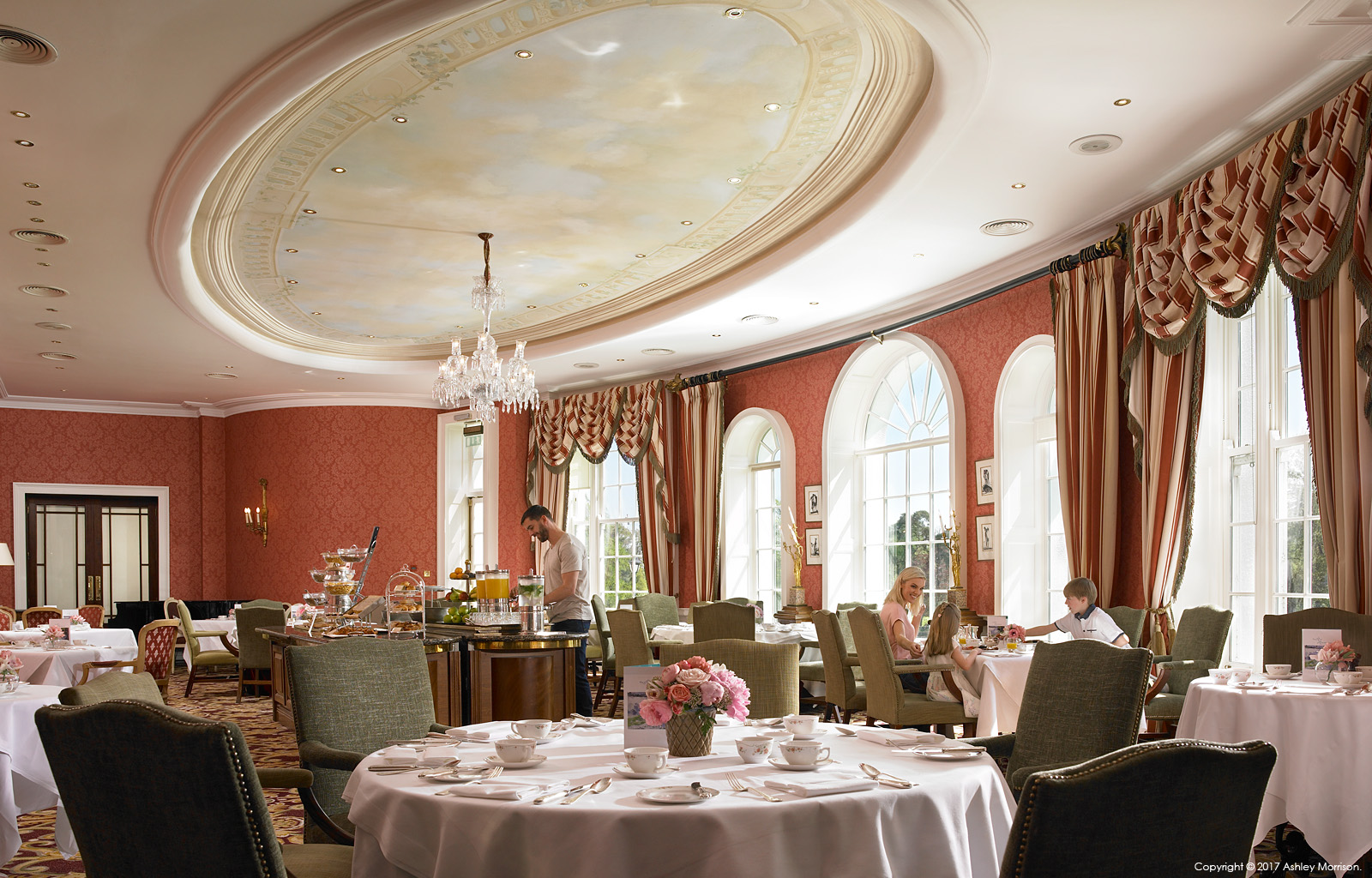 The River Room Restaurant at the Kildare Hotel, Spa & Country Club in County Kildare.