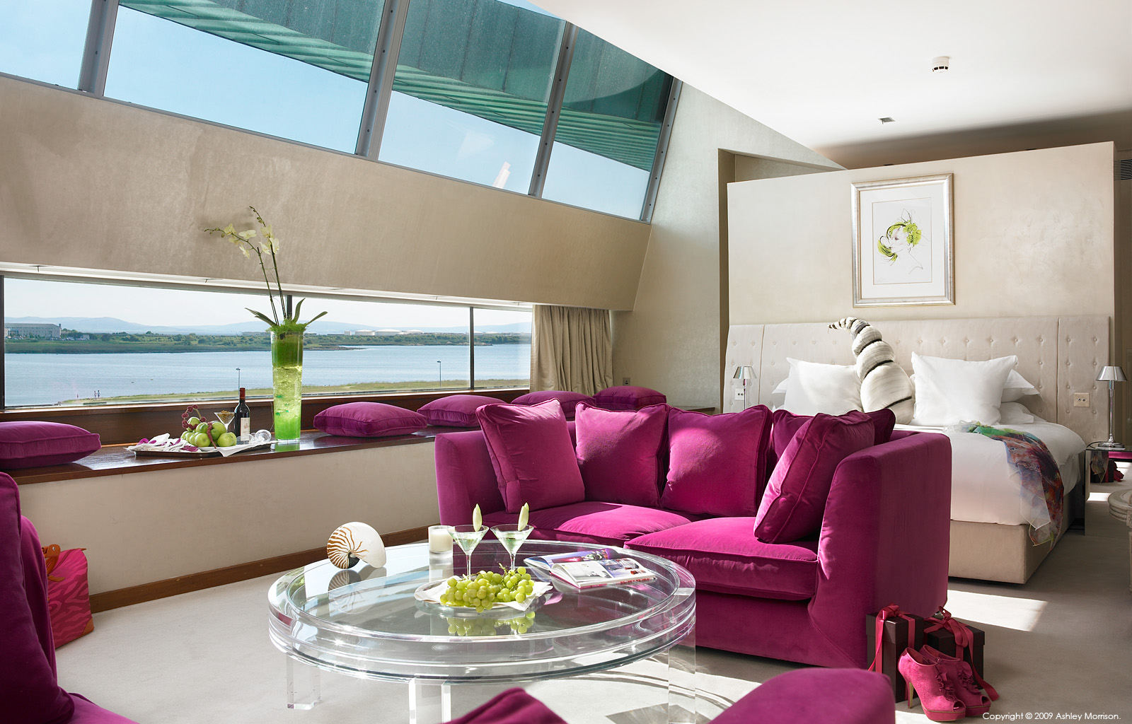 Specialty Suite at the g Hotel in Galway by Ashley Morrison.
