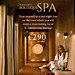 The Tatler award ad for being named the best Boutique Spa by Trump International Golf Links & Hotel Ireland.