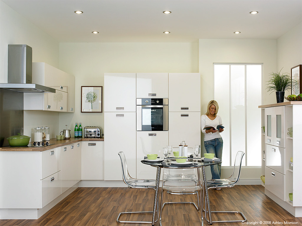 In the kitchen showroom at O&S Doors Ltd in County Tyrone by Ashley Morrison.